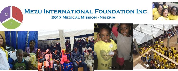 2017 Humanitarian Mission Summary – NIGERIA